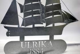 Ulrika 1884 - skylt